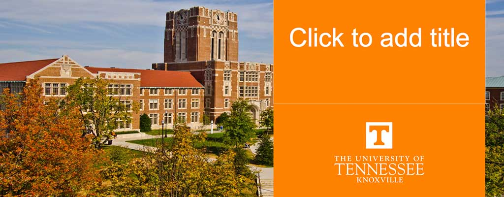 Brand assets the university of tennessee knoxville image of powerpoint template toneelgroepblik Image collections